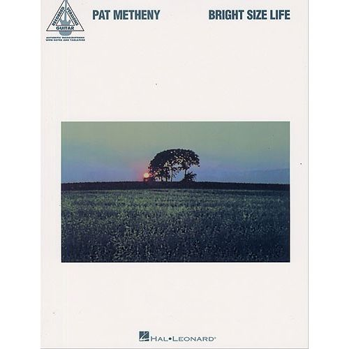 HAL LEONARD PAT METHENY BRIGHT SIZE LIFE TAB - GUITAR TAB