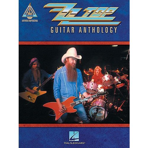 HAL LEONARD ZZ TOP - GUITAR ANTHOLOGY TAB