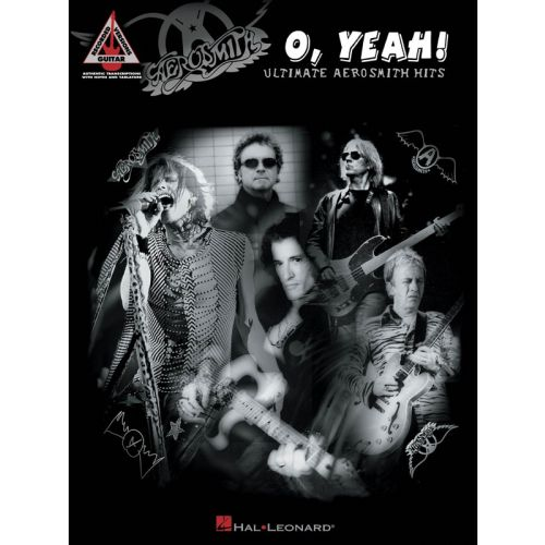 HAL LEONARD AEROSMITH O YEAH! ULTIMATE AEROSMITH HITS GUITAR REC VERSION - GUITAR TAB