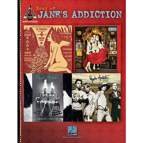 HAL LEONARD BEST OF JANE'S ADDICTION - GUITAR TAB