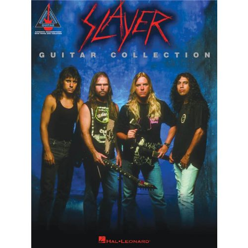 HAL LEONARD SLAYER - GUITAR COLLECTION TAB