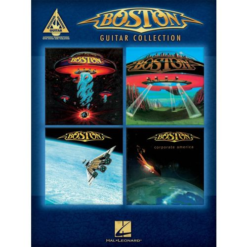 HAL LEONARD GUITAR RECORDED VERSIONS BOSTON GUITAR COLLECTION - VOICE