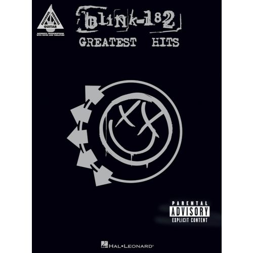 HAL LEONARD BLINK-182 GREATEST HITS GUITAR RECORDED VERSION - GUITAR TAB