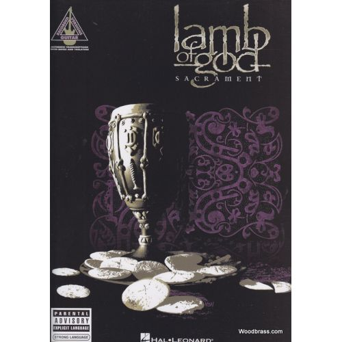 HAL LEONARD LAMB OF GOD - SACRAMENT - GUITAR TAB