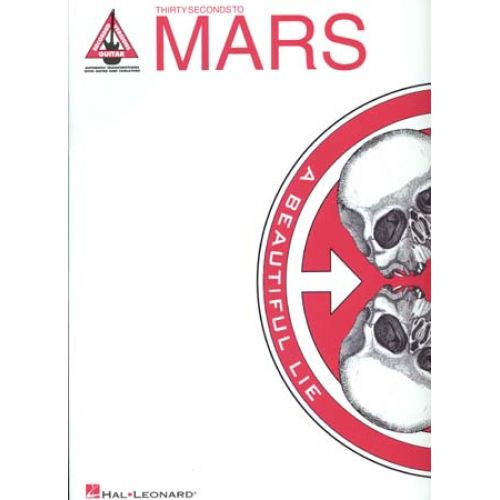 HAL LEONARD 30 SECONDS TO MARS - A BEAUTIFUL LIE - GUITAR TAB
