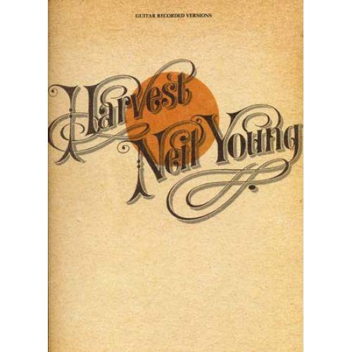 HAL LEONARD YOUNG NEIL - HARVEST - GUITAR TAB