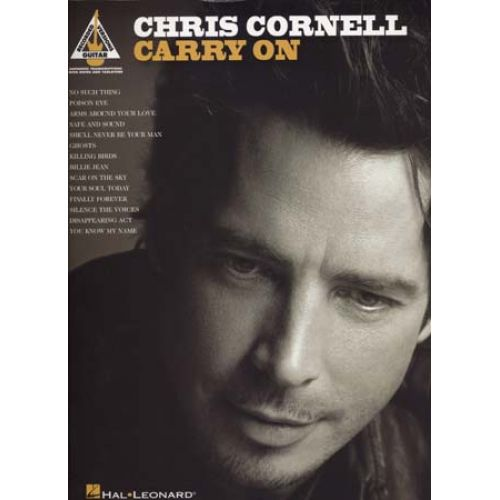 HAL LEONARD CORNELL CHRIS - CARRY ON - GUITAR TAB