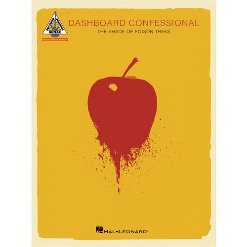 HAL LEONARD DASHBOARD CONFESSIONAL THE SHADE OF POISON TREES - GUITAR TAB