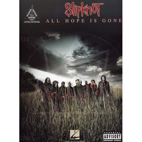 HAL LEONARD SLIPKNOT - ALL HOPE IS GONE - GUITARE TAB