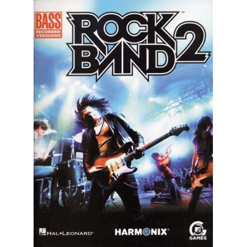 HAL LEONARD ROCK BAND 2 - BASS TAB