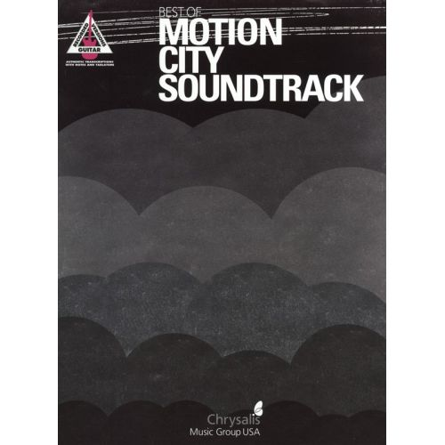 HAL LEONARD BEST OF MOTION CITY SOUNDTRACK GUITAR RECORDED VERSIONS - GUITAR TAB