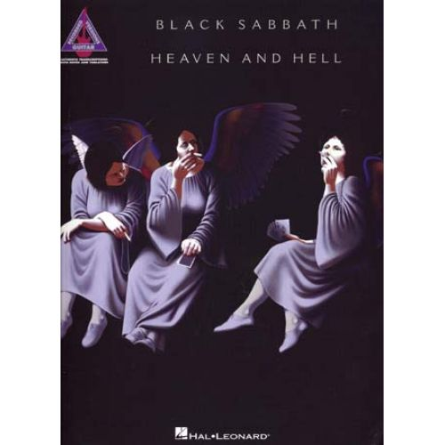 HAL LEONARD BLACK SABBATH - HEAVEN AND HELL - GUITAR TAB