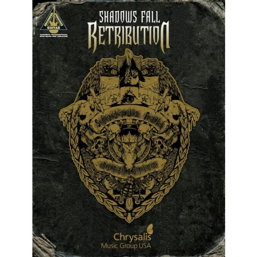 HAL LEONARD SHADOWS FALL RETRIBUTION GUITAR RECORDED VERSIONS - GUITAR
