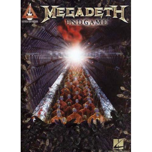 HAL LEONARD MEGADETH - ENDGAME - GUITAR TAB
