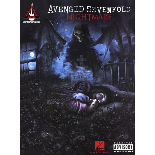HAL LEONARD AVENGED SEVENFOLD NIGHTMARE GUITAR RECORDED VERSION - GUITAR TAB