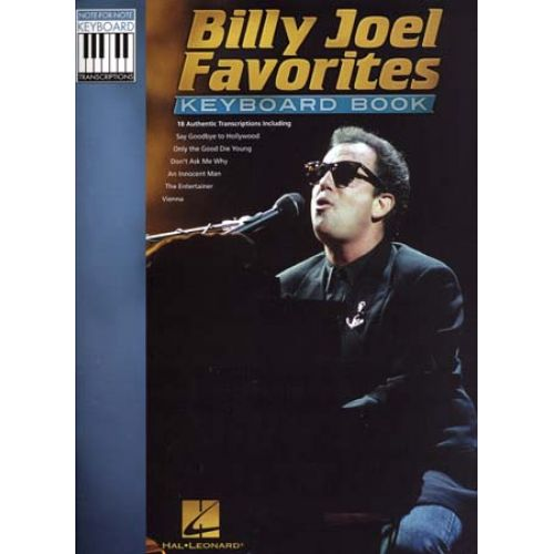 HAL LEONARD JOEL BILLY FAVORITES KEYBOARD BOOK NOTE-FOR-NOTE