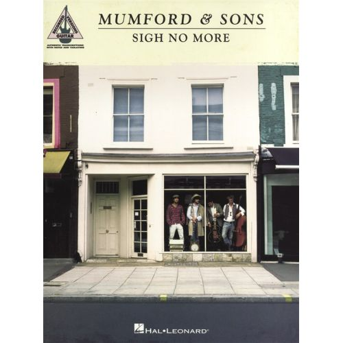 HAL LEONARD MUMFORD AND SONS SIGH NO MORE GUITAR RECORDED VERSION - GUITAR