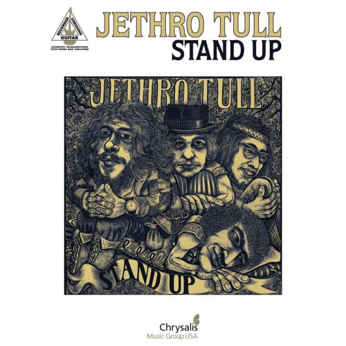 HAL LEONARD JETHRO TULL STAND UP GUITAR RECORDED VERSION GRV - GUITAR TAB