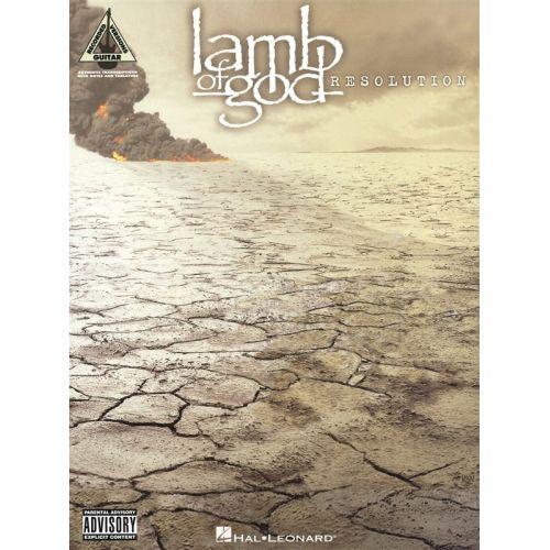 HAL LEONARD LAMB OF GOD - LAMB OF GOD - RESOLUTION - GUITAR