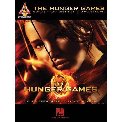 HAL LEONARD THE HUNGER GAMES SONGS FROM DISTRICT 12 AND BEYOND - GUITAR