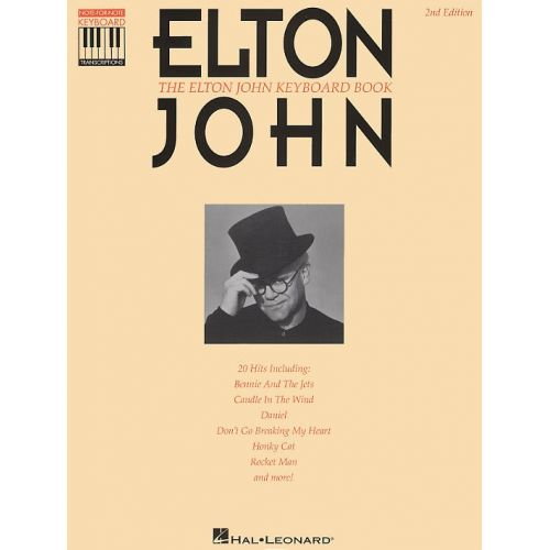 HAL LEONARD THE ELTON JOHN KEYBOARD - NOTE FOR NOTE KEYBOARD TRANSCRIPTIONS