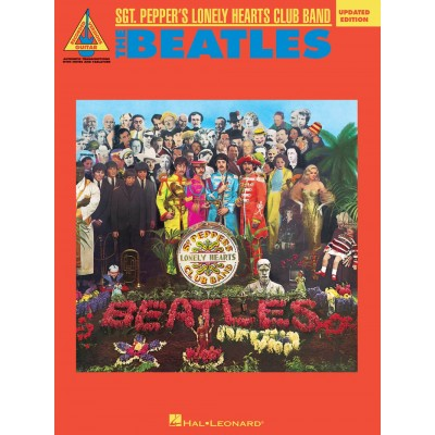 HAL LEONARD THE BEATLES - SGT. PEPPER'S LONELY HAERTS CLUB BAND - GUITAR TAB