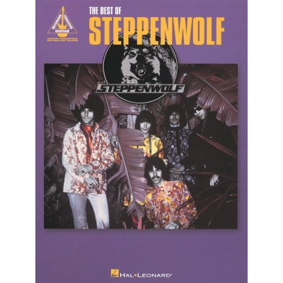 HAL LEONARD THE BEST OF STEPPENWOLF - GUITAR RECORDED VERSIONS