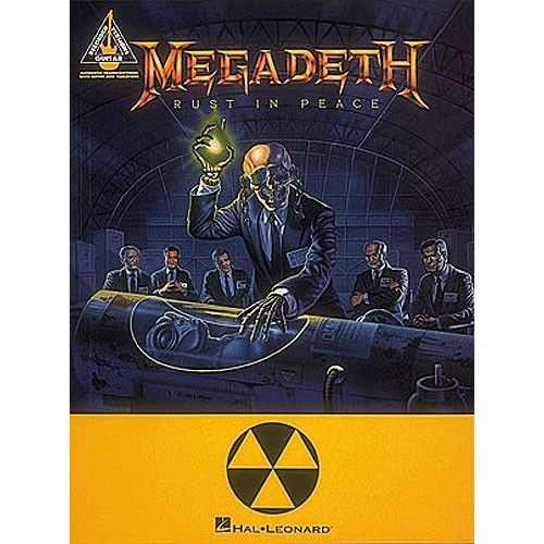 HAL LEONARD MEGADEATH RUST IN PEACE GUITAR RECORDED VERSION - GUITAR TAB