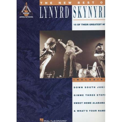 HAL LEONARD LYNYRD SKYNYRD - NEW BEST OF - GUITAR TAB