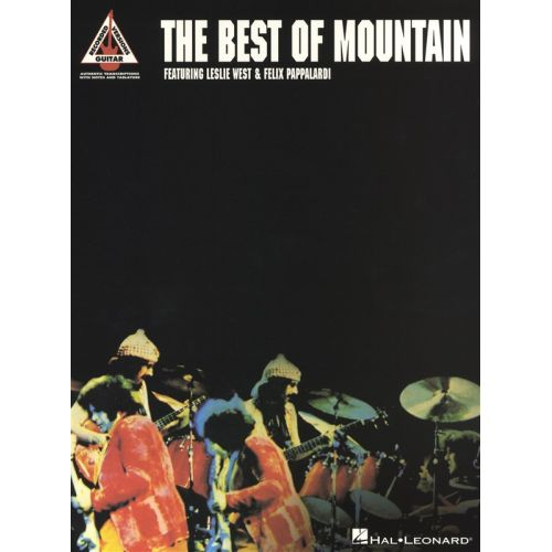 HAL LEONARD THE BEST OF MOUNTAIN GUITAR RECORDED VERSION - GUITAR TAB