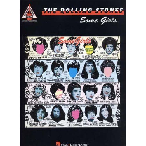 HAL LEONARD ROLLING STONES - SOME GIRLS - GUITAR TAB