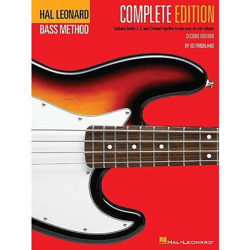 HAL LEONARD HAL LEONARD BASS METHOD COMPLETE EDITION - BASS GUITAR
