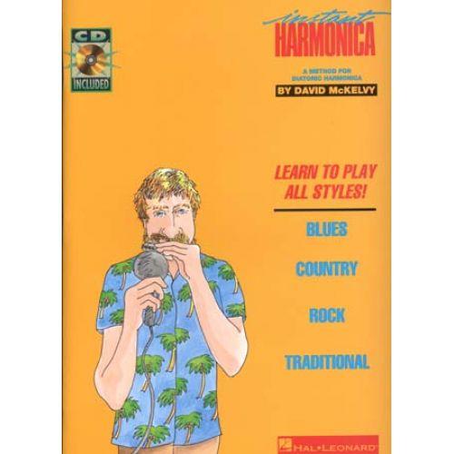 HAL LEONARD MCKELVY DAVID - INSTANT HARMONICA + CD