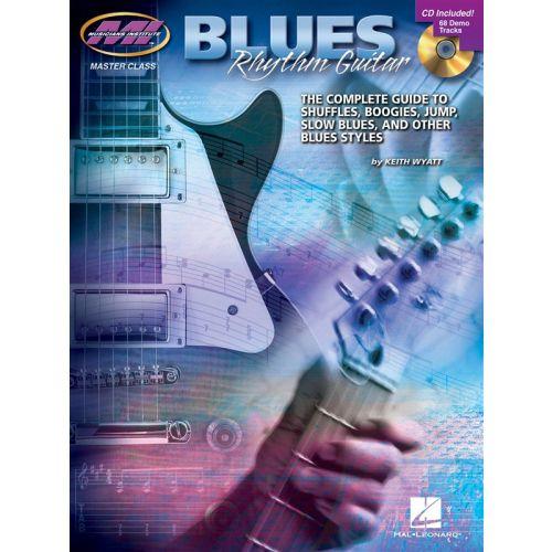 HAL LEONARD WYATT KEITH - BLUES RHYTHM TAB + CD - GUITAR