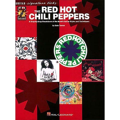HAL LEONARD RED HOT CHILI PEPPERS - SIGNATURE LICKS + CD - GUITAR TAB