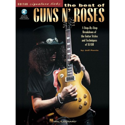 HAL LEONARD GUNS N' ROSES - BEST OF - SIGNATURE LICKS + MP3 - GUITAR TAB