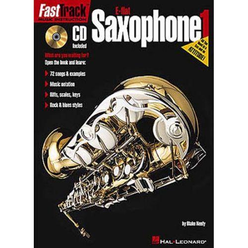 HAL LEONARD FAST TRACK SAXOPHONE Eb VOL.1 + CD