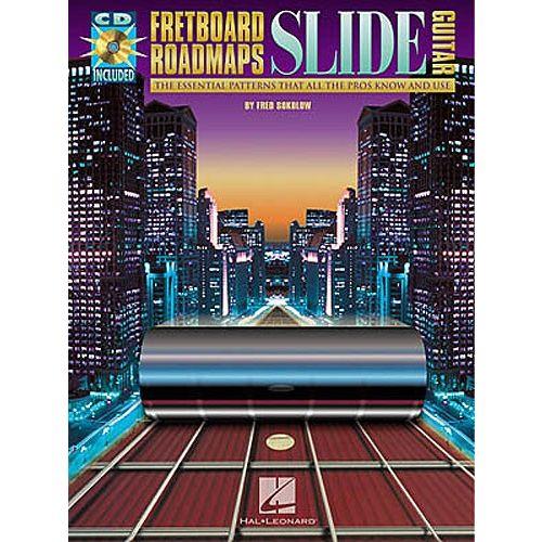 HAL LEONARD SOKOLOW FRED - SLIDE GUITAR - GUITAR TAB
