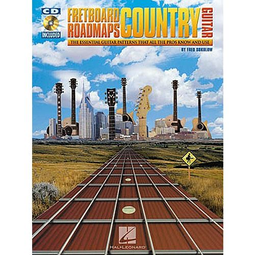 HAL LEONARD SOKOLOW FRED - COUNTRY GUITAR - GUITAR TAB