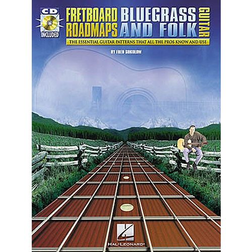HAL LEONARD FRETBOARD ROADMAPS BLUEGRASS AND FOLK GUITAR - GUITAR TAB