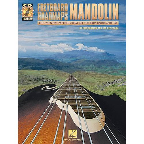 HAL LEONARD FRETBOARD ROADMAPS MANDOLIN + CD - MANDOLIN