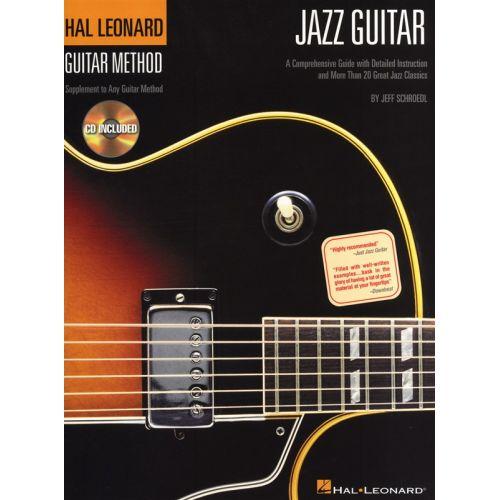 HAL LEONARD HAL LEONARD GUITAR METHOD JAZZ GUITAR + CD - GUITAR TAB