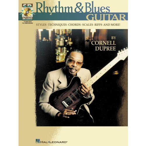 HAL LEONARD RHYTHM AND BLUES + CD - GUITAR TAB