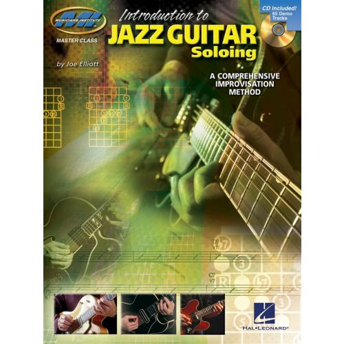HAL LEONARD INTRODUCTION TO JAZZ GUITAR SOLOING A COMPREHENSIVE IMPROVISATION ME - GUITAR