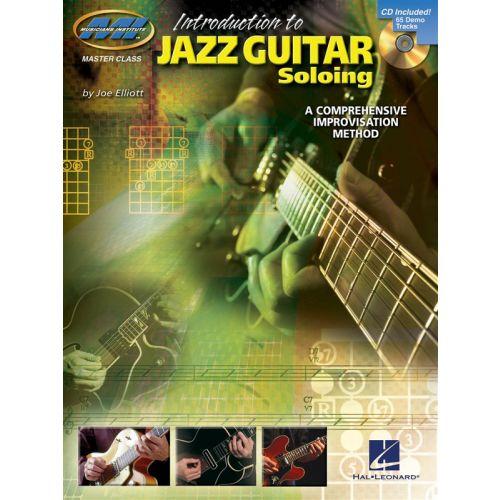 HAL LEONARD INTRODUCTION TO JAZZ GUITAR SOLOING A COMPREHENSIVE IMPROVISATION ME - GUITAR