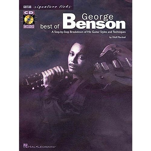 HAL LEONARD BENSON GEORGE - SIGNATURE LICKS + CD - GUITAR TAB