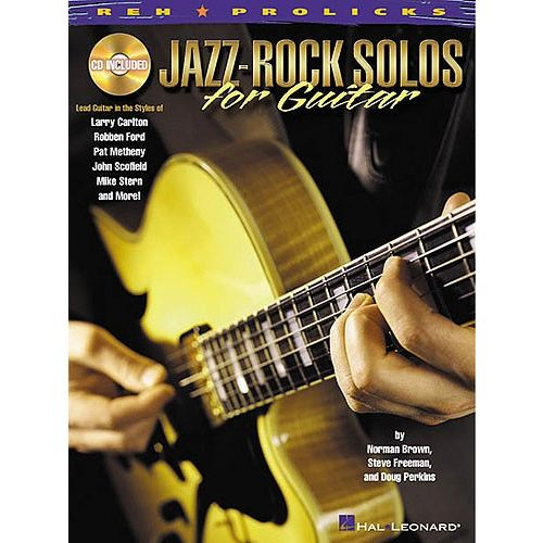 HAL LEONARD JAZZ-ROCK SOLOS FOR + CD - GUITAR TAB