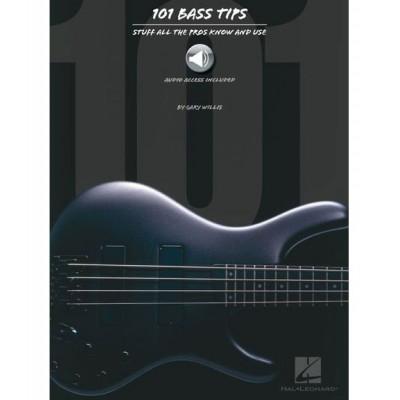 HAL LEONARD WILLIS GARY - 101 BASS TIPS - BASS GUITAR