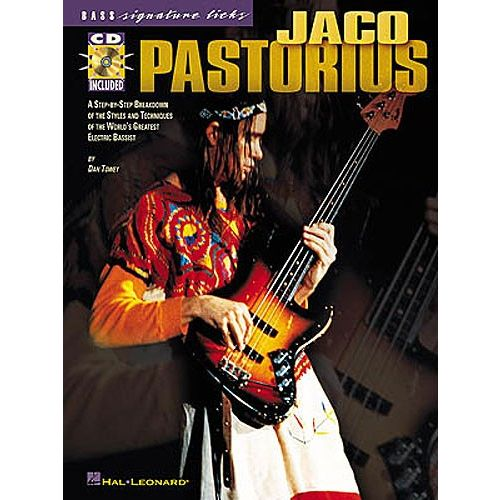 HAL LEONARD PASTORIUS JACO - SIGNATURE LICKS + CD - BASS TAB