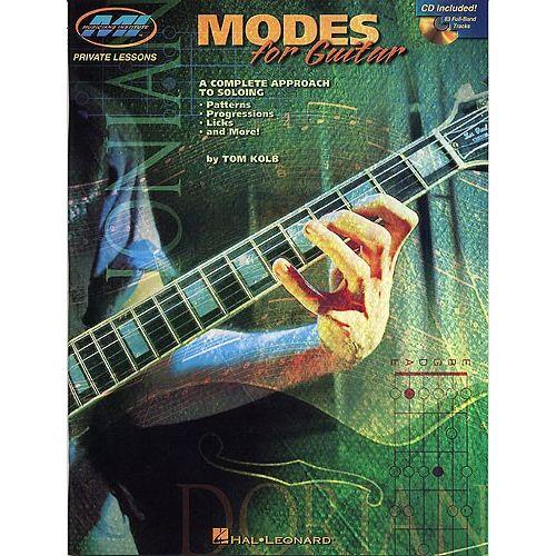 MUSIC SALES KOLB TOM - MODES FOR GUITAR - GUITAR